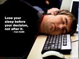 قبل از تصمیمات مهم، کمی بخوابید