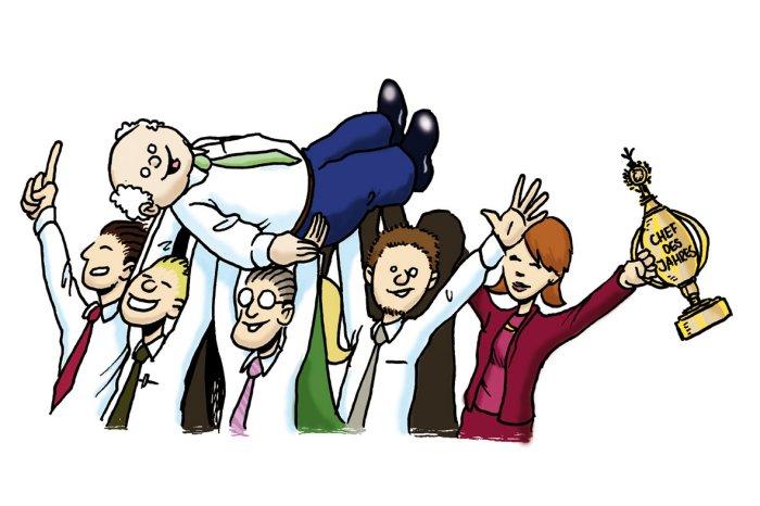 پنج قانون برای رییسهای خوب