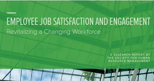 ۲۰۱۶ گزارش رضایت شغلی و دلبستگی شغلی انجمن منابع انسانی آمریکا