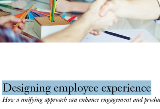 گزارش آی بی ام: چگونه تجربه کار را بهبود ببخشیم