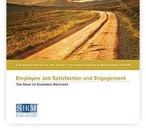 گزارش رضایت و تعلق شغلی ۲۰۱۵ انجمن منابع انسانی آمریکا
