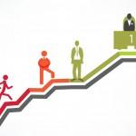 مسیر پیشرفت شغلی در چهار گام